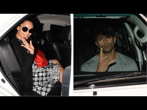 Bipasha Basu And Karan Singh Grover Spotted At Mahira Saloon