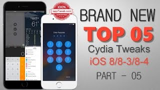 TOP 05 BRAND NEW CYDIA TWEAKS FOR iOS 8 - 8.3 - 8.4 - Part 05, ios 9, ios, iphone, ios 9 ra mat