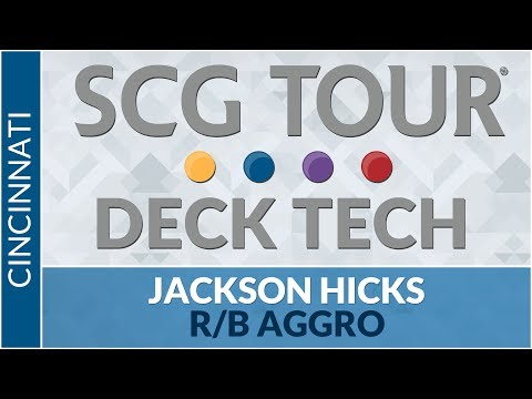 SCGCIN Deck Tech: R/B Aggro with Jackson Hicks [Standard]