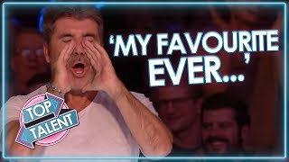 Video Simon Cowell's FAVOURITE EVER UK Auditions! Got Talent and X Factor | Top Talent MP3, 3GP, MP4, WEBM, AVI, FLV Juni 2019