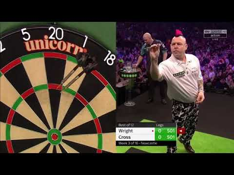 Premiere League Of Darts 2018||Week 3||Cross Vs Wright