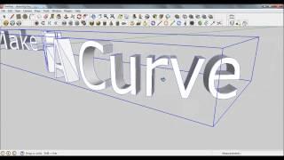 Video Sketchup Pro 8 - Bending 3D text along a path MP3, 3GP, MP4, WEBM, AVI, FLV Desember 2017