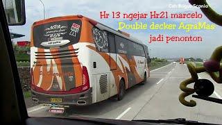 Video knalpot Jet,Hr13 ngejar Haryanto 21 marcelo-Double Decker Agramas,lari cepat diatas 120km MP3, 3GP, MP4, WEBM, AVI, FLV Agustus 2018