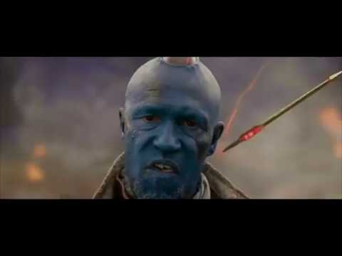Yondu All Arrow and Fight scenes (Guardians of the Galaxy)