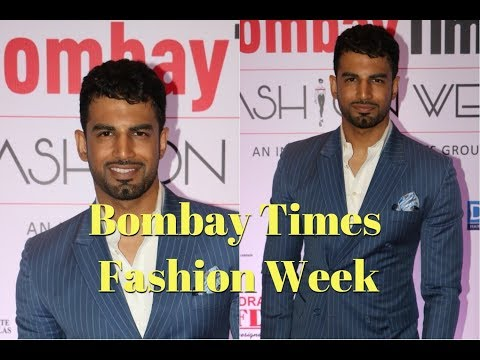 Upen Patel As A Guest At Bombay Times Fashion Week