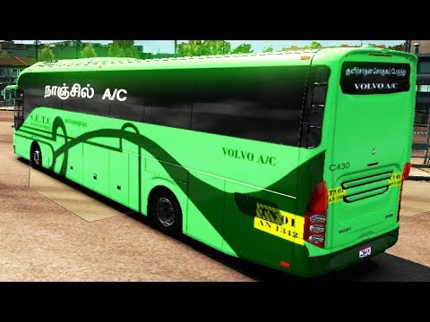 Indian Volvo Single and Multiaxle Bus with Skin