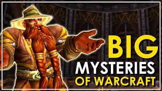 There are a lot of very strange things going on in the Warcraft universe. Places that we know of only by name and interactions that we don't understand. Today we'll delve into the most pressing mysteries of the Warcraft lore and attempt to figure out what's up.I'll do a future video on smaller, more character based, mysteries. The focus of today is the big picture.●Twitter - https://twitter.com/BellularGaming●I Stream on Twitch.tv! - http://bit.ly/BellularTwitchWoW News Websites- MMO-Champion.com- WoWHead.com- The WoW Devs are on Twitter (http://wow.joystiq.com/2014/02/25/wow-insiders-guide-to-blizzard-twitter-accounts/)