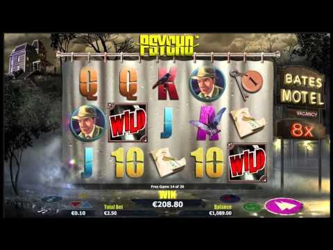 Psycho Online Slot Bonus Round - Nextgen