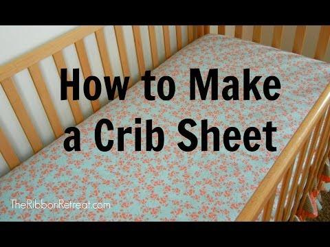 Πως να φτιάξετε σεντόνια για βρεφική κούνια