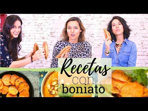 Dietas para adelgazar - RECETAS CON BONIATO O BATATA  Cómo cocinar boniato de manera saludable
