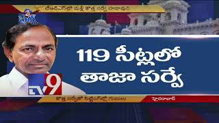 CM KCR's new survey has TRS sitting MLAs worried - TV9 Today