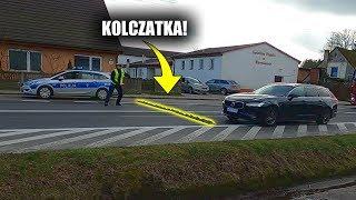 POŚCIG POLICJI Za ZŁODZIEJEM! ☆Złapali VOLVO Na Kolczatkę!