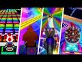 Evolution Of Rainbow Road In Mario Kart Games 1992  2017