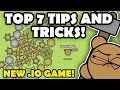 MooMooio TIPS AND TRICKS TO BE A PRO! NEW AWESOME IO GAME!