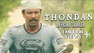 Thondan Official Trailer Samuthirakani Sunainaa