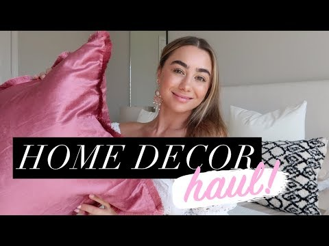 Huge Home Decor Haul! Julia Havens