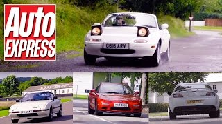 Mazda's greatest ever sports cars: explore the MX-5, Cosmo, RX-7 and RX-8 by Auto Express