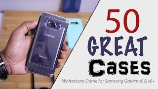 50 Cases for Whitestone Dome Screen Protector  Galaxy S8 and ...
