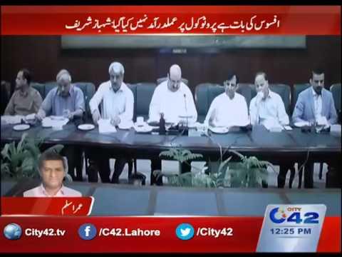 وزیر اعلیٰ پنجاب کا چھٹی کے روز بھی ویڈیو لنک کے ذریعے اجلاس