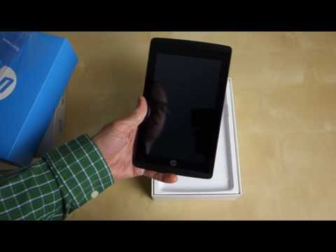 HP Slate 7 Extreme Unboxing and Hands On