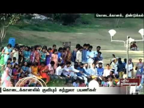 Summer-begins-Tourists-inflow-to-Kodaikanal-increases
