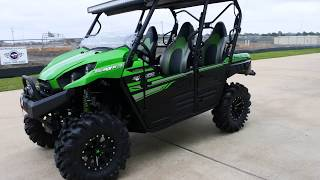 10. 2017 Kawasaki Teryx4 LE with Super ATV Forward A-Arms & More