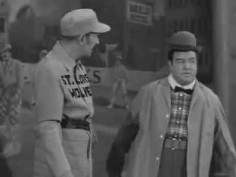 First - Abbott and Costello perform the classic