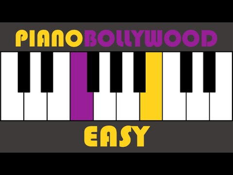Video Tere Mast Mast Do Nain - Easy PIANO TUTORIAL - Stanza [Both Hands Slow] download in MP3, 3GP, MP4, WEBM, AVI, FLV January 2017