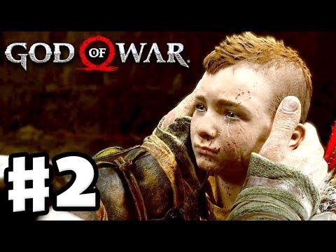 God of War - Gameplay Walkthrough Part 2 - Reavers of the Mountain! (God of War 4) (видео)