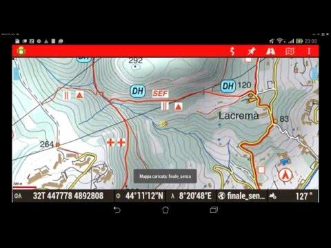 Video 6   Mappe offline per Oruxmaps - Georeferenziare immagine senza reticolo con Okmap