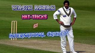 Video All Wasim Akram Hat-Tricks in Cricket | SULTAN OF SWING...KING OF YORKERS!! MP3, 3GP, MP4, WEBM, AVI, FLV Oktober 2018