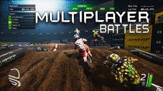 Video Multiplayer Battles - Monster Energy Supercross Game MP3, 3GP, MP4, WEBM, AVI, FLV Desember 2018