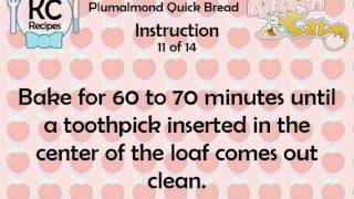 KC Plumalmond Quick Bread YouTube video