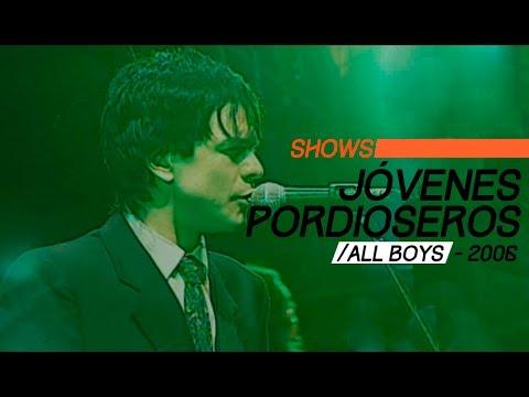 Jóvenes Pordioseros video Estadio All Boys 2006 - Show Completo