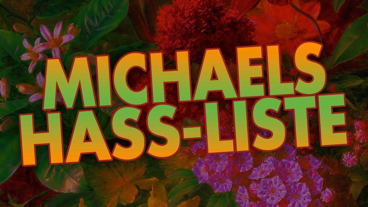 "Ich hasse ""Depressionen""! | Michaels Hass-Liste"