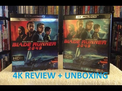 Blade Runner 2049 4K ULTRA HD BLU RAY Review + Unboxing