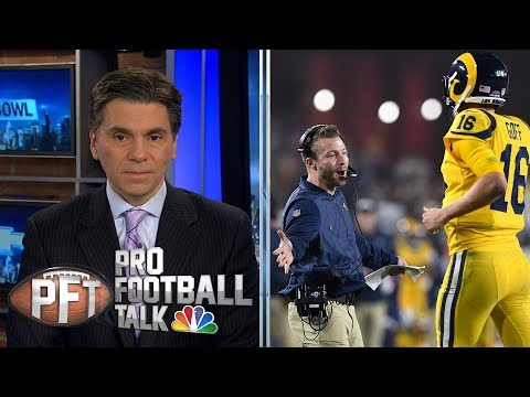 Video: Sean McVay getting most out of Jared Goff, Rams offense I Pro Football Talk I NBC Sports