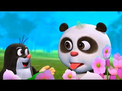 Кротик и Панда - все серии сразу - сборник 31-35 -  развивающий мультфильм для детей