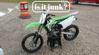 5. Is the kx100 a good bike???