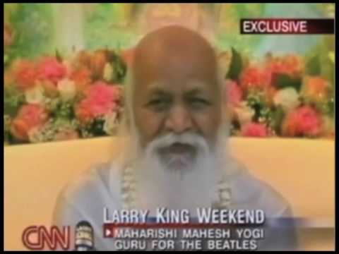 Maharishi e Larry King 2/5