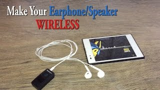 In this video, We show you how to convert your earphone/headphone/speakers into a wireless or Bluetooth one. This method is very useful to connect your favorite earphone to some of the recently released smartphones (ex:-iphone 7) which doesn't have an earphone port.Bluetooth Receiver:- http://amzn.to/2pnHZiWWebsite:- http://wizhub.tech/Tech Deal's:- http://wizhub.tech/deals/------------------------------------------------Pheripheral's that I use to shoot the video's------------------------------------------------My Gear:Microphone:- http://amzn.to/2fh9bvfVideo shot on:- http://amzn.to/2fFfTtETripod:- http://amzn.to/2eFxpv6Laptop:- http://amzn.to/2fFezH7Mouse:- http://amzn.to/2fFMaipMy Powerbank:- http://fkrt.it/HD7geTuuuNStorage:- http://fkrt.it/H8AkQTuuuN-------------------------------------------------Popular Videos:Cool Tech Under Rs.200:- https://youtu.be/cPNS3bon9Z0Cool Tech Under Rs.1000:- https://youtu.be/lR6P_YRBFpgBest Earphone Under Rs.1500:- https://youtu.be/gT8MSLRfnucTech Survival Kit:- https://youtu.be/z5Y7JzKC8Y4Best Budget Smart Tv @ Rs.35,000:- https://youtu.be/wszdeqIAnSQ-------------------------------------------------Music Courtesy:-www.bensound.com &www.incompetech.com