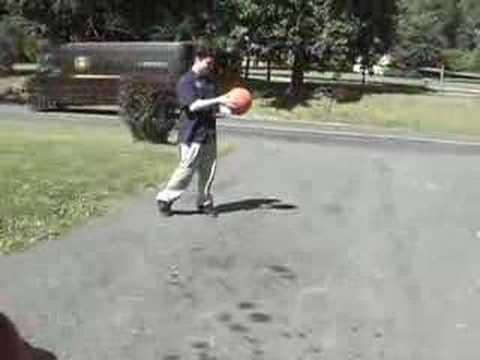 Basketboll exploderar