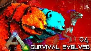 ARK: SURVIVAL EVOLVED - ALPHA & PRIME DIREBEAR TAMING !!! E04 (MODDED ARK ETERNAL ISO CRYSTAL ISLES)