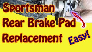 5. How to Replace Rear Brake Pads on a 2003 Polaris Sportsman 500 ATV - DIY