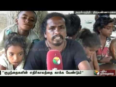 Nari-Kuravargal-requst-to-construct-hostel-for-their-children