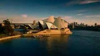 Aerial view -- Sydney Harbour Cruises