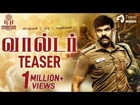 Walter Tamil movie Official Teaser / Trailer