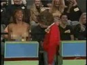Woman flashes her boobs too Bob Barker on the price is right (older show) (Cencored version)