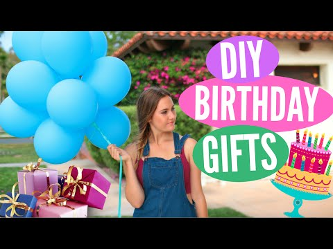 DIY Birthday Gift Ideas! Easy Presents for Friends & Family!
