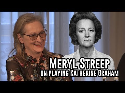 The Post Press Conference : Meryl Streep on Playing Katherine Graham